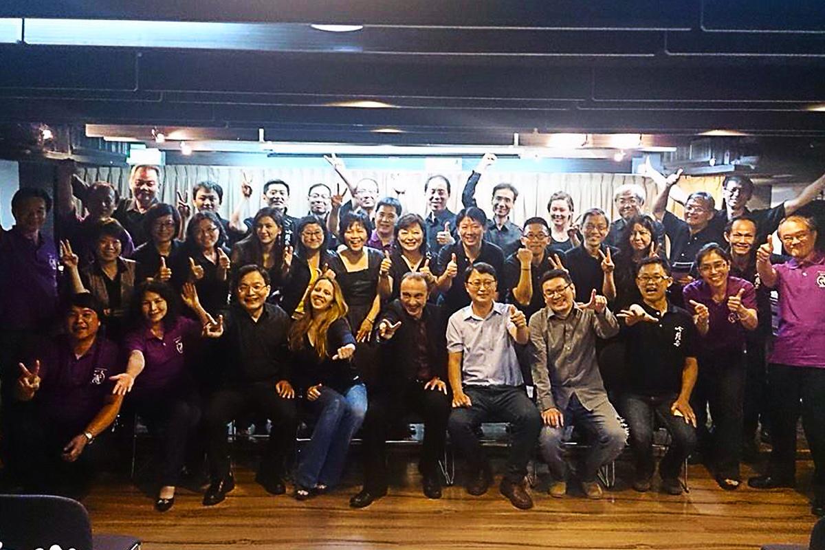 Masterclass at Taichug - Taiwan