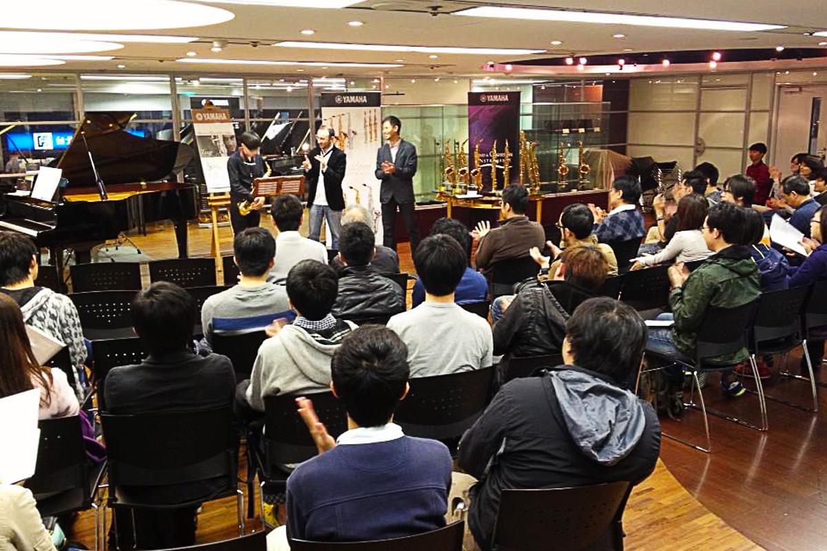 Masterclass at Yamaha - Taipei